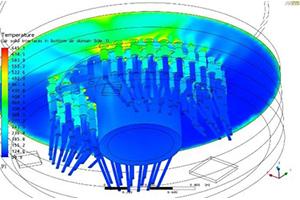 pressurizer heater analysis chart